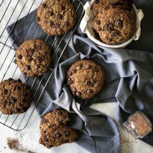 Receita: Cookie com aveia e linhaça